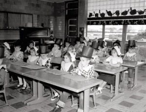 Thanksgiving Class 1957